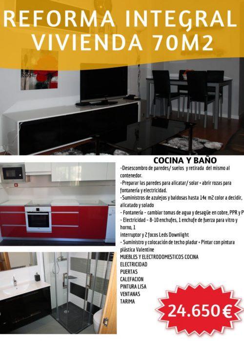 OFERTA DE REFORMA INTEGRAL EN MADRID